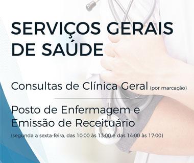 Novos serviços na área da saúde